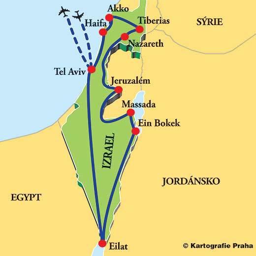 Veľky Okruh Po Izraeli Travel Sk